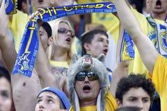 Steaua Bucharest- FC Petrolul Ploiesti Stock Photo