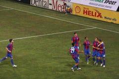 Steaua Bucharest football team Royalty Free Stock Image