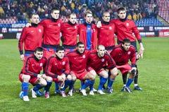 Steaua Bucharest - Liverpool FC (EUROPA LEAGUE) Royalty Free Stock Photography