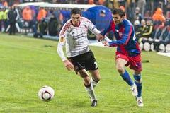 Steaua Bucharest - Liverpool FC (EUROPA LEAGUE) Stock Images