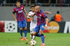 Steaua Bucharest Ludogorets Razgrad Fotografia Stock