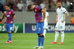 Steaua Bucharest Ludogorets Razgrad Arkivbild