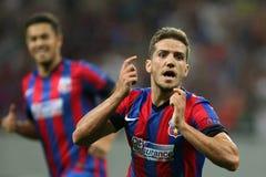 Steaua Bucharest- Ludogorets Razgrad Royalty Free Stock Images