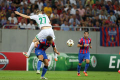 Steaua Bucharest- Ludogorets Razgrad Stock Photography
