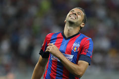 Steaua Bucharest- Ludogorets Razgrad Royalty Free Stock Photography
