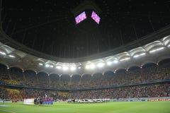 Steaua Bucharest- Ludogorets Razgrad Royalty Free Stock Photography