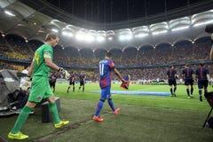 Steaua Bucharest- Ludogorets Razgrad Royalty Free Stock Image