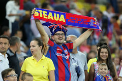 Steaua Bucharest- Ludogorets Razgrad Stock Images