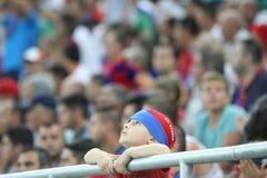 Steaua Bucharest- Ludogorets Razgrad Stock Image