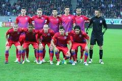 Steaua Bucharest - Maccabi Haifa Royaltyfri Fotografi