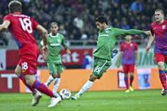 Steaua Bucharest - Maccabi Haifa Royalty Free Stock Photos