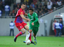 Steaua Bucharest - Maccabi Haifa Royalty Free Stock Photography