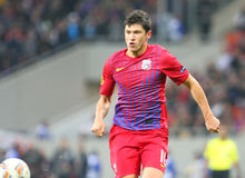 Steaua Bucharest - Maccabi Haifa Stock Photo