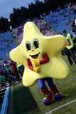 Steaua Bucharest mascot Royalty Free Stock Photo