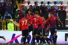 FC Steaua Bucharest- FC Astra Giurgiu Royalty Free Stock Photography