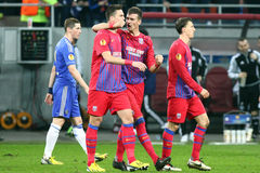 Steaua Bucharest - Chelsea London Royalty Free Stock Image