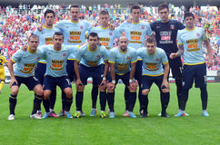 Steaua Bucharest Players Stock Photography