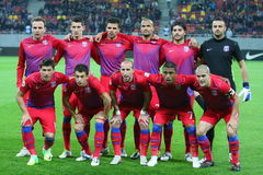 Steaua Bucharest - Rapid Bucharest Stock Images