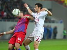 Steaua Bucharest - Rapid Bucharest Stock Photography