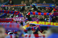 Steaua Bucharest - Rapid Bucharest Stock Photo