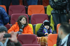 Steaua Bucharest - snabba Bucharest Royaltyfri Fotografi