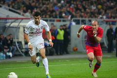 Steaua Bucharest - snabba Bucharest Arkivbilder