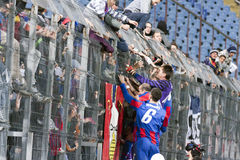 Steaua Bucharest - Sportul Studentesc Royalty Free Stock Photo