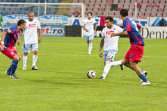 Steaua Bucharest - SSC Napoli Royalty Free Stock Photo