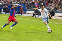 Steaua Bucharest - SSC Napoli Stock Photo