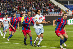 Steaua Bucharest - SSC Napoli Royalty Free Stock Photography