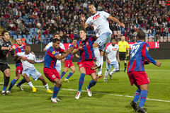 Steaua Bucharest - SSC Napoli Royalty Free Stock Image