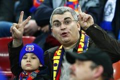 Steaua Bucharest - Chelsea London Royaltyfri Foto
