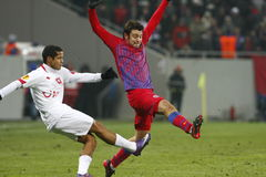 Steaua Bucharest- Twente Royaltyfri Bild