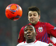 Steaua Bucharest- Twente Stock Photo