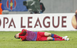 Steaua Bucharest- Twente Arkivfoto