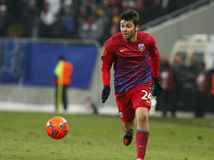 Steaua Bucharest- Twente Stock Photography