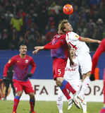 Steaua Bucharest- Twente Stock Images