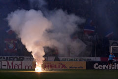 Steaua Bucharest - Utrecht (EUROPA LEAGUE) Stock Photography