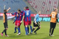 Steaua Bucharest - Utrecht (EUROPA LEAGUE) Stock Images