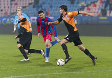 Steaua Bucharest - Utrecht (EUROPA LEAGUE) Stock Image