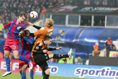 Steaua Bucharest - Utrecht (EUROPA LEAGUE) Stock Images