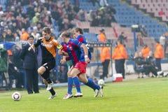 Steaua Bucharest - Utrecht (EUROPA-LIGA) Lizenzfreies Stockfoto