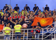 Steaua Bucharest-Vardar Skopje, UEFA Champions League Stock Photography