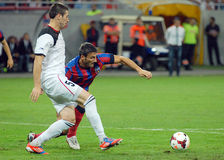 Steaua Bucharest-Vardar Skopje, UEFA Champions League Royalty Free Stock Photography
