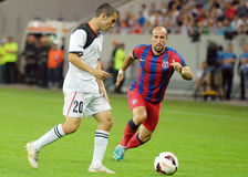 Steaua Bucharest-Vardar Skopje, UEFA Champions League Royalty Free Stock Photos