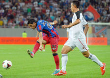 Steaua Bucharest-Vardar Skopje, UEFA Champions League Royalty Free Stock Image