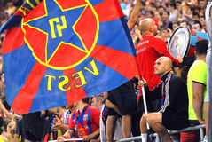 Steaua Bucharest-Vardar Skopje, UEFA Champions League Royalty Free Stock Photo