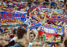 Steaua Bucharest-Vardar Skopje, UEFA Champions League Stock Images