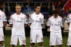 Steaua Bucharest vs Bayern Munchen Stock Photography