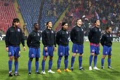Steaua Bucharest vs Bayern Munchen Royalty Free Stock Photography